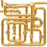 Tubulações ilustração royalty free
