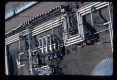 Tubulações Califórnia do sul Edison Solar Power Plant Foto de Stock