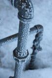 Tubulações congeladas Imagem de Stock