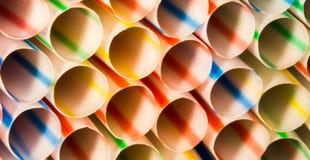 Tubulações da cor Foto de Stock