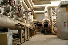 Tubulações da indústria e sistemas da indústria Imagem de Stock Royalty Free
