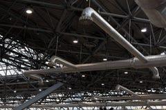 Tubulações da ventilação Foto de Stock
