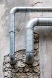 Tubulações da ventilação Fotografia de Stock Royalty Free