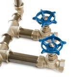 Tubulações de água Foto de Stock Royalty Free