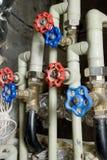 Tubulações de água Imagens de Stock