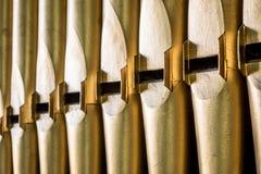 Tubulações de órgão Fotografia de Stock Royalty Free