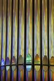 Tubulações de órgão Imagens de Stock