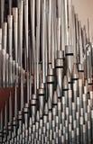 Tubulações de órgão da tubulação Imagens de Stock Royalty Free