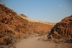 Tubulações de órgão, Namíbia Imagem de Stock
