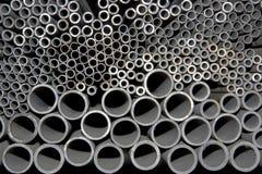 Tubulações de aço Fotos de Stock