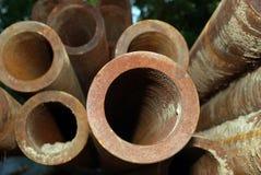 Tubulações de aço imagem de stock royalty free