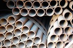 Tubulações de aço Imagens de Stock Royalty Free