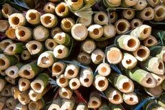 Tubulações de bambu Fotografia de Stock Royalty Free