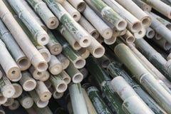 Tubulações de bambu Fotos de Stock