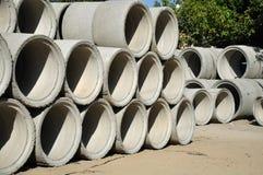 Tubulações de Beton. Imagens de Stock