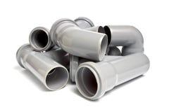 Tubulações de esgoto Fotografia de Stock