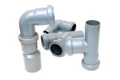 Tubulações de esgoto Imagens de Stock