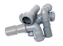 Tubulações de esgoto Imagem de Stock