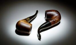 Tubulações de fumo Foto de Stock