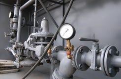 Tubulações de gás Imagens de Stock Royalty Free