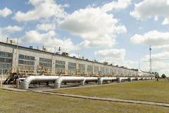 Tubulações de gás Imagens de Stock