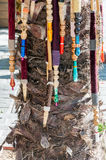 Tubulações de Nargile que penduram na palmeira Foto de Stock Royalty Free