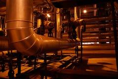 Tubulações de vapor Imagem de Stock Royalty Free
