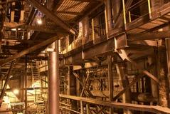 Tubulações de vapor Imagens de Stock Royalty Free