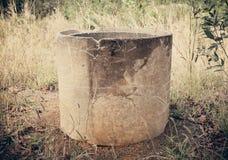 Tubulações do cimento fotografia de stock