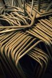 Tubulações do metal armazenadas para o trabalho imagens de stock royalty free