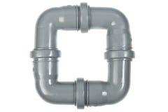 Tubulações do PVC Imagem de Stock Royalty Free