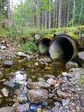 Tubulações do rio Imagens de Stock Royalty Free