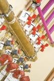 Tubulações e câmaras de ar Imagens de Stock Royalty Free