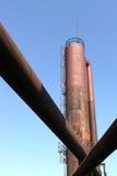 Tubulações e torre imagens de stock royalty free