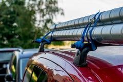 Tubulações em um telhado do carro Fotografia de Stock Royalty Free