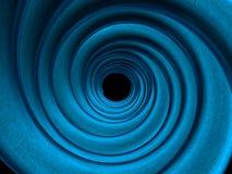 Tubulações estrangeiras azuis da fantasia ilustração stock