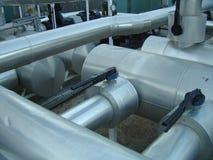 Tubulações industriais Fotografia de Stock Royalty Free