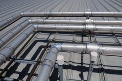 Tubulações industriais Fotos de Stock
