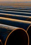 Tubulações oxidadas Foto de Stock Royalty Free