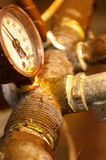 Tubulações oxidadas Fotos de Stock Royalty Free