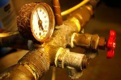Tubulações oxidadas Imagens de Stock