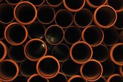 Tubulações plásticas Fotos de Stock Royalty Free