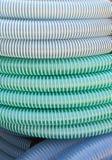 Tubulações plásticas flexíveis Fotos de Stock