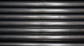 Tubulações refrigerando industriais Fotografia de Stock Royalty Free