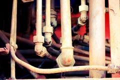 Tubulações velhas Foto de Stock