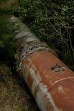 Tubulações velhas oxidadas da turbina Fotografia de Stock Royalty Free