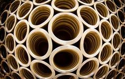 Tubulações de aço Fotografia de Stock Royalty Free