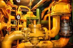 Tubulações e câmaras de ar Fotografia de Stock