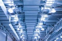 tubulação da ventilação de uma condição do ar para o env fresco Fotos de Stock