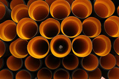 Tubulação plástica Fotos de Stock Royalty Free